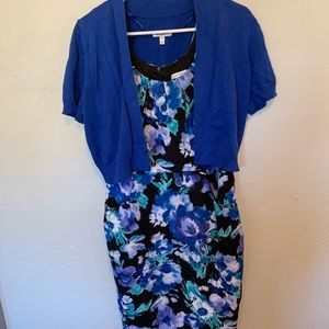 Fashion Bug blue floral dress
